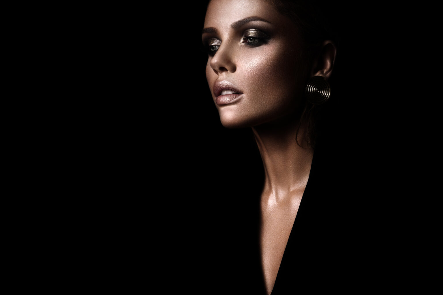 Baettig Abend Makeup - Glow - Smokey Eyes