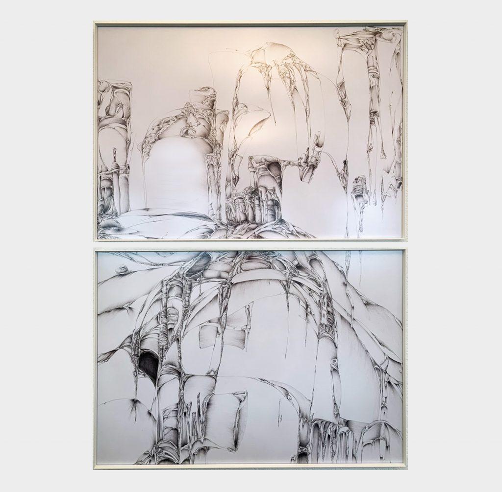 Phantasie Landschaft - Antonella Cavalleri