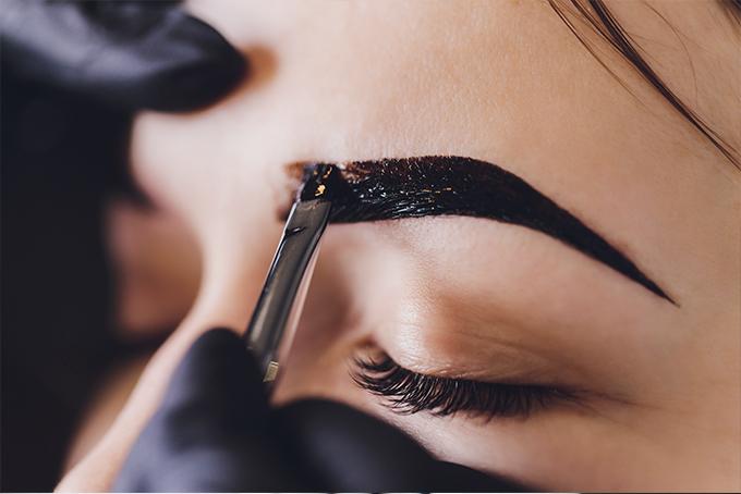 #Henna Brauen Färben Henna Brows Beauty