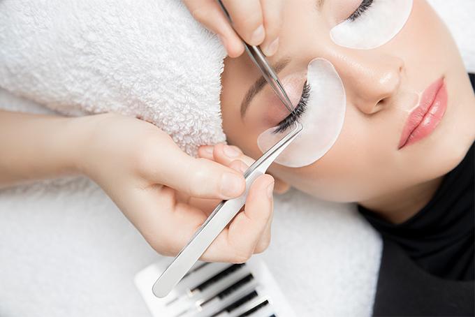 lashes extensions wimpernverlängerung